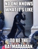no one knows what it s like to be the batman
