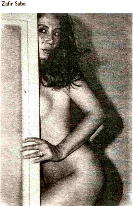 Saba Homayoon  nackt