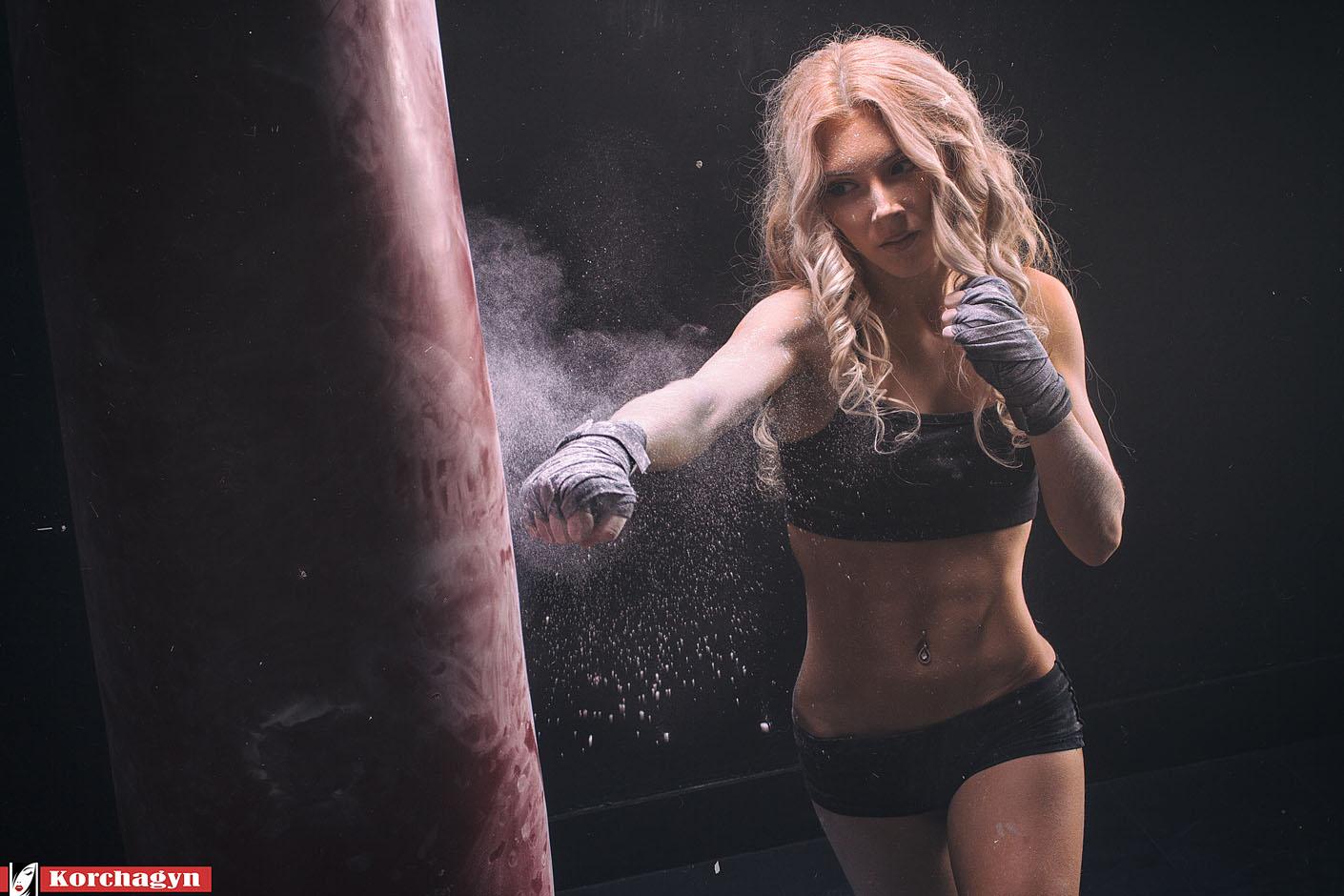 Фото девочек в боксе 5 фотография