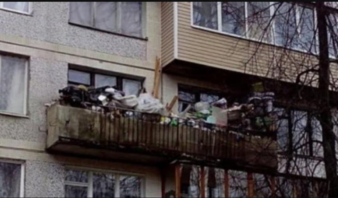 Русские балконы - они всем балконам балконы.
