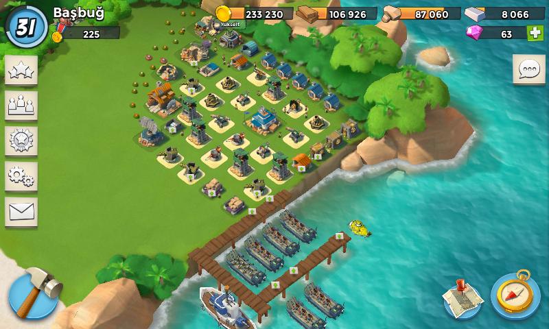 Как лучше сделать базу в boom beach