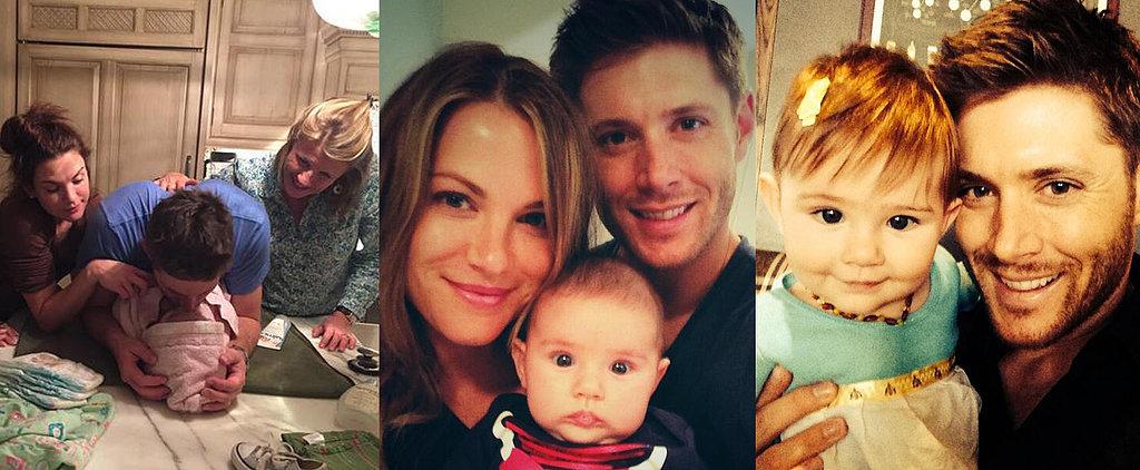 так много дженсен эклз фото с женой и детьми порвала