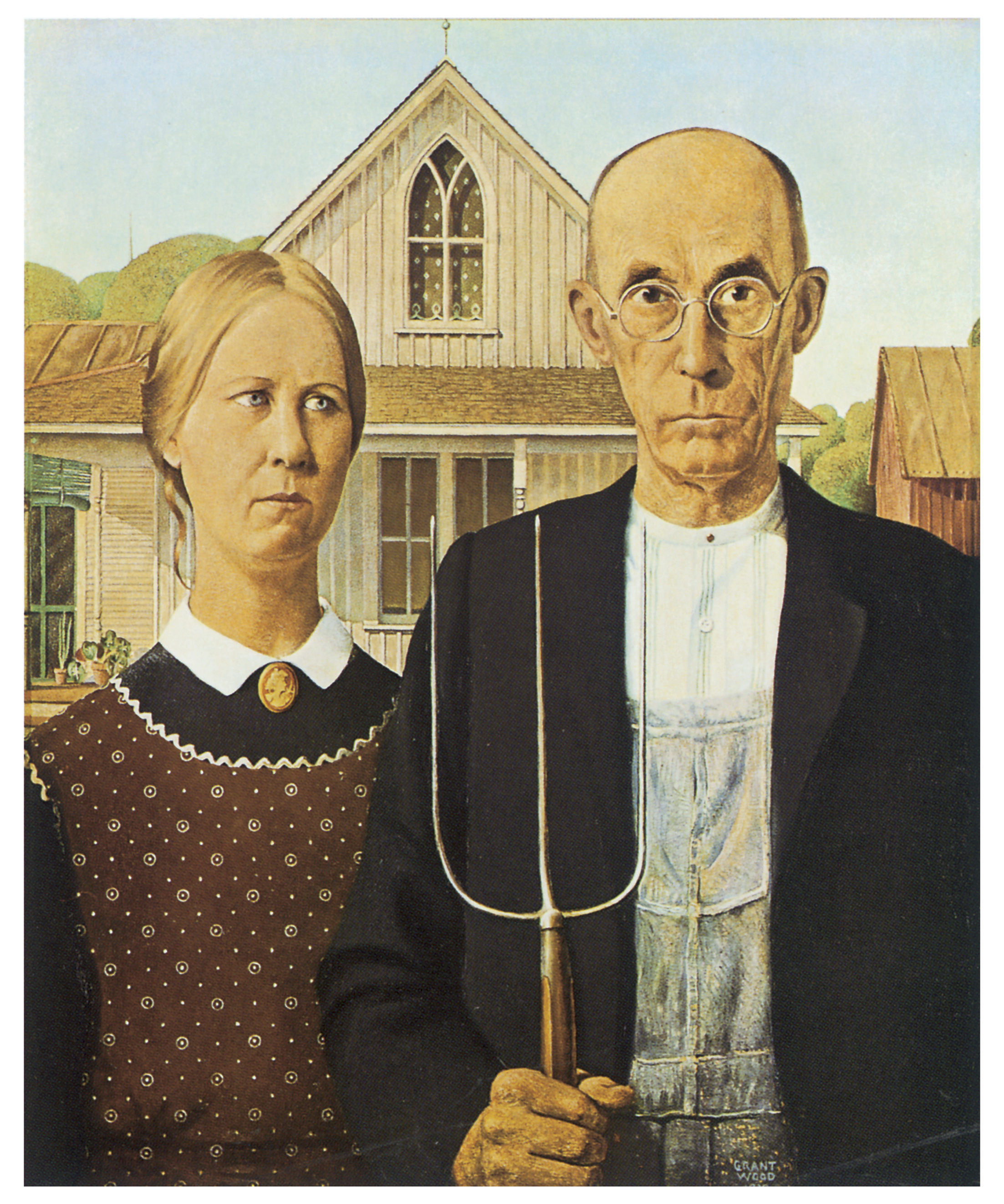 Famous Painting Of Farmer And Wife
