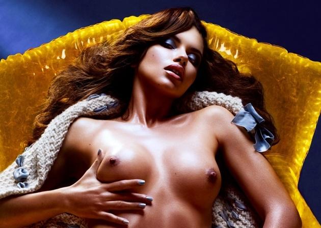 Lick his adriana lima nude photo shoot