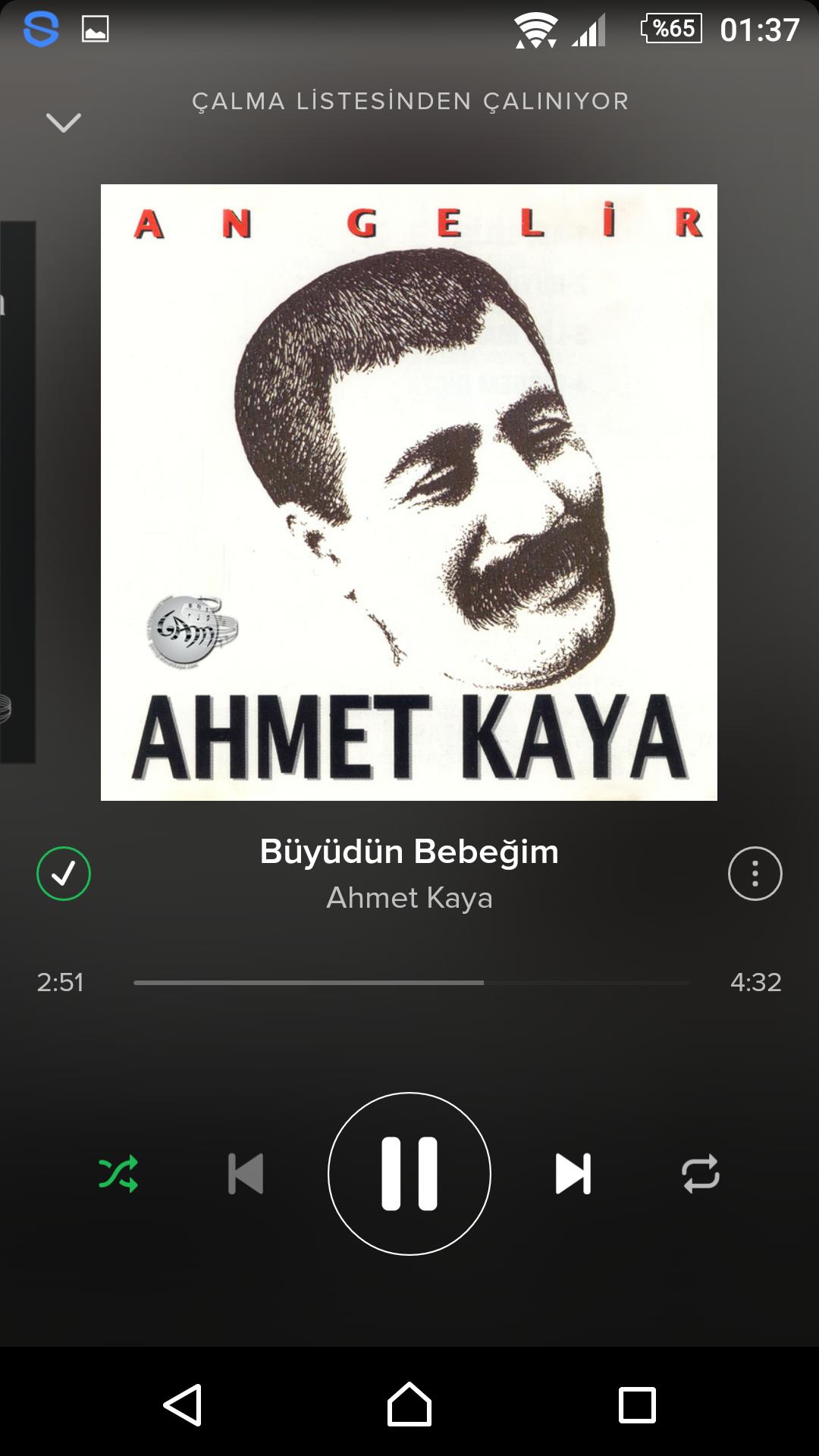 günün şarkısı