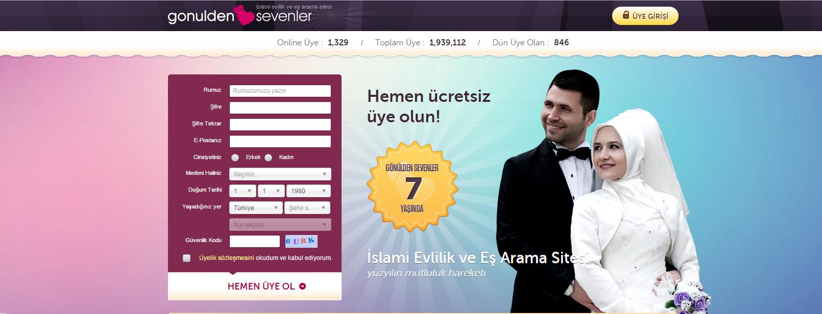 İslami Evlilik Sitesi - MUSLİMLİFE
