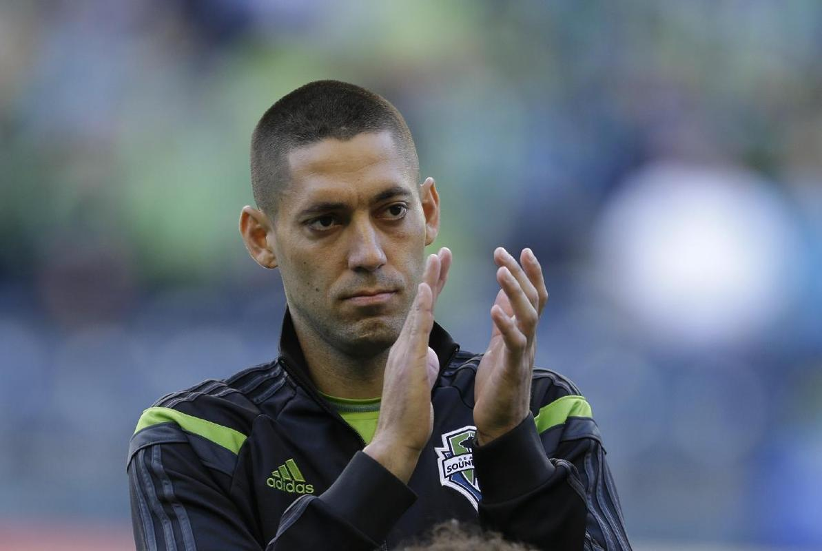Clint Dempsey tied a franchise record while scoring his first goal of the season as the Seattle Sounders rallied for a 11 tie Saturday night with the