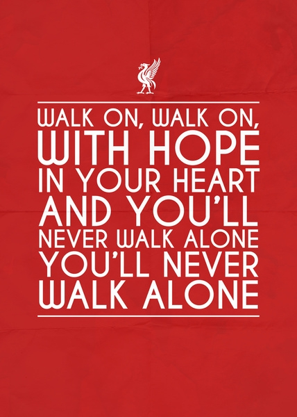 you will never walk alone resim 2