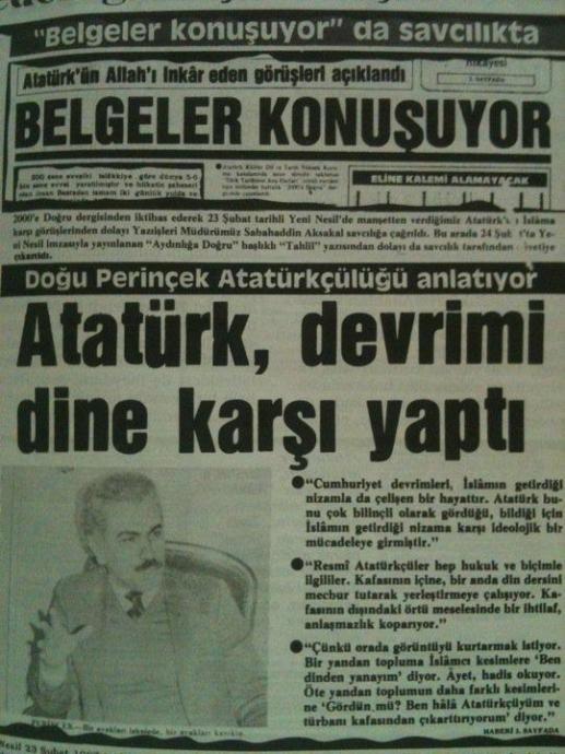 Hiçbir Gerçek Müslüman Atatürk ü Sevmez Sayfa 2 Uludağ Sözlük
