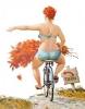 bisiklete binen kızın asıl amacı